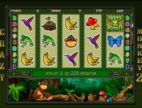 игровые автоматы crazy monkey на деньги