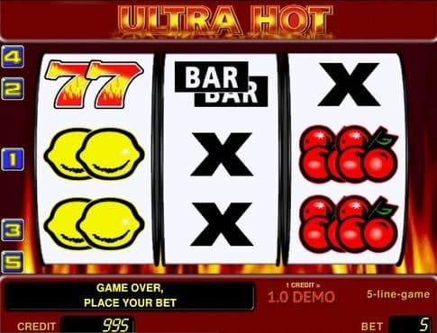 игровые автоматы ultra hot онлайн