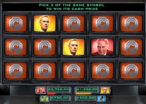Бонусная игра онлайн аппарата Robocop