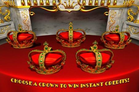 Призовой раунд в онлайн аппарате Royal Reels
