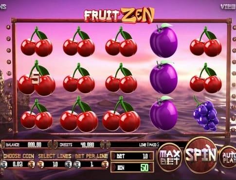 Крупный выигрыш в слоте Fruit Zen