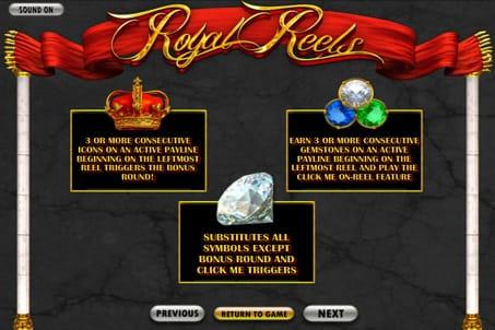 Плавила игры в слоте Royal Reels